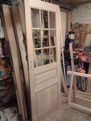 Quincaillerie fer forg ancienne - Double porte interieure vitree ...