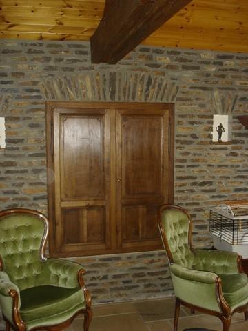 Fabrication artisanale l 39 ancienne de portes int rieure ch ne - Porte de placard chene ...